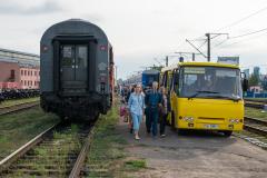 Umspurbahnhof, D 405, Brest, Belarus, 25.07.2013