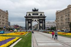 Triumfbogen, Russland, Moskau, DENKMÄLER, 27.07.2013