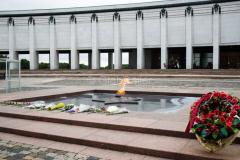 Russland, Park Pobedy, Moskau, GÄRTEN & PARKS, Ewiges Feuer, 27.07.2013