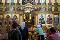 Russland, Park Pobedy, Moskau, Kirche, GÄRTEN & PARKS, GOTTESHÄUSER, 27.07.2013