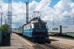 Zug 6, TschS2K-610, TschS2, Sysran, Russland, Bahnhof, 28.07.2013