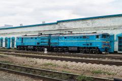Kasachstan, Bahnbetriebswerk, Aktjubinsk, 2TE10M-2540, 2TE10, 29.07.2013