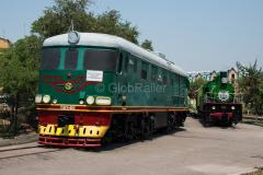 Usbekistan, Taschkent, TEP60, Eisenbahnmuseum, 31.07.2013