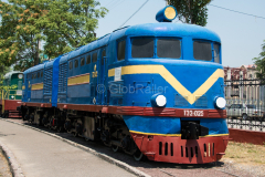 Usbekistan, Taschkent, TE2-025, Eisenbahnmuseum, 31.07.2013