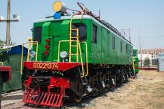 WL22-374, WL22, Usbekistan, Taschkent, Eisenbahnmuseum, 31.07.2013