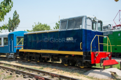 Usbekistan, Taschkent, TU4-0544, Eisenbahnmuseum, 31.07.2013