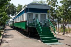 Usbekistan, Taschkent, Personenwagen, Eisenbahnmuseum, 31.07.2013