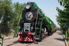 Usbekistan, Taschkent, LW-0487, Eisenbahnmuseum, 31.07.2013