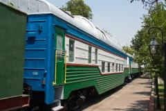 Usbekistan, Taschkent, Eisenbahnmuseum, Domecar, 31.07.2013