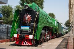 Usbekistan, Taschkent, P36-0250, Eisenbahnmuseum, Domecar, 31.07.2013