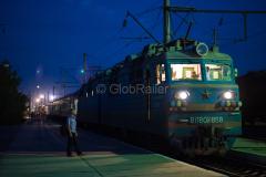 Zug 369, WL80-1858, WL80, Kasachstan, Bahnhof, Arys, 31.07.2013