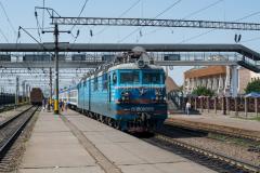 Zug 369, WL80-1858, WL80, Schu, Kasachstan, Bahnhof, 01.08.2013