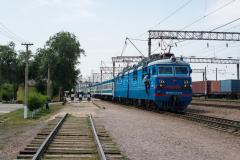 WL80-2374, WL80, Otar, Kasachstan, Bahnhof, 01.08.2013
