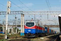 TE33A-0207, Kasachstan, Bahnhof 1, Bahnhof, 01.08.2013