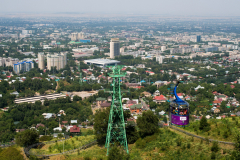 Seilbahn, Kok Tebe, Kasachstan, Almaty, 02.08.2013