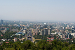 Skyline, Kasachstan, Almaty, 02.08.2013