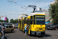 Tw 1001, Straßenbahn, Kasachstan, Almaty, 03.08.2013