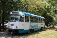 Tw 1045, Straßenbahn, Kasachstan, Almaty, 03.08.2013