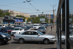 Straßenbahn, Kasachstan, Almaty, 03.08.2013