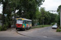 Tw 1046, Straßenbahn, Kasachstan, Almaty, 03.08.2013