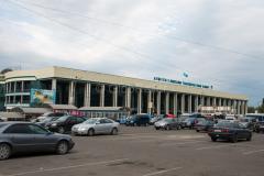 Kasachstan, Empfangsgebäude, Bahnhof 1, 03.08.2013
