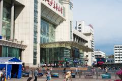 Urumchi, Empfangsgebäude, China, 05.08.2013