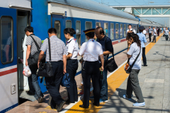 Turfan, T 178, China, Bahnhof, 07.08.2013