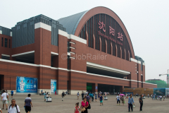 Shenyang, Empfangsgebäude, China, Bahnhof, 11.08.2013