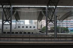 Shenyang, Nordbahnhof, China, CRH, Bahnsteig, 12.08.2013