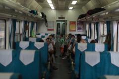 Zug 7317, Sitzwagen, China, 12.08.2013