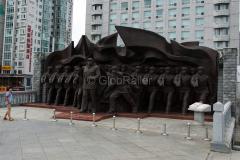 Denkmal, Dandong, DENKMÄLER, China, 12.08.2013