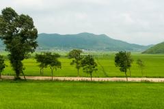 Nordkorea, Landschaft, 13.08.2013