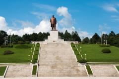 Nordkorea, Kim Il Sung, Kaesong, Denkmal, DENKMÄLER, 14.08.2013