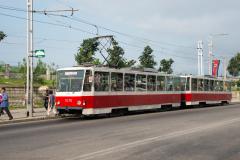 Tw 1076, Straßenbahn, Pjöngjang, Nordkorea, 15.08.2013