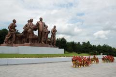 Nordkorea, Kim Il Sung, Kangsö, Denkmal, DENKMÄLER, 15.08.2013