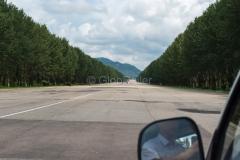 STRASSEN & WEGE & PLÄTZE, Nordkorea, Autobahn, 15.08.2013