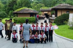 Pjöngjang, Pioniere, Nordkorea, Denkmal, DENKMÄLER, 15.08.2013