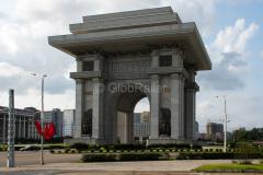 Triumfbogen, Nordkorea, Denkmal, DENKMÄLER, 15.08.2013