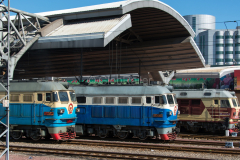 Peking, Hauptbahnhof, DF4D-3148, DF4-1758, DF4-1755, China, 18.08.2013