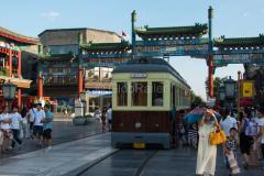 Straßenbahn, Peking, China, 18.08.2013