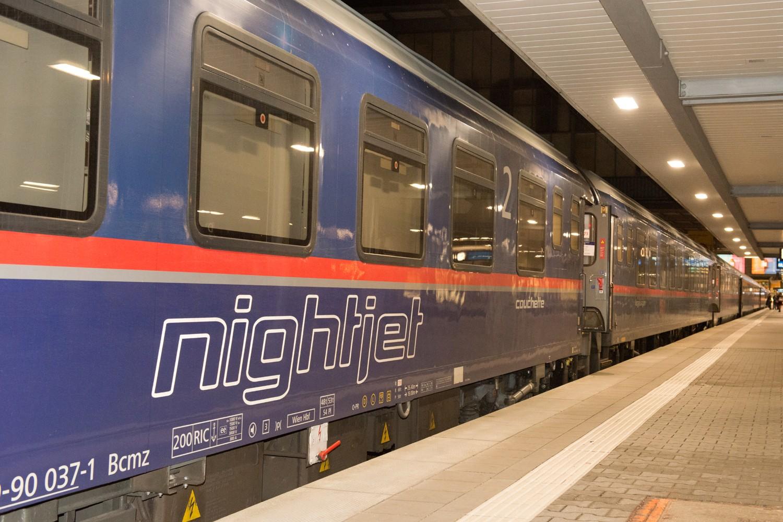 Bild von Nightjet der ÖBB
