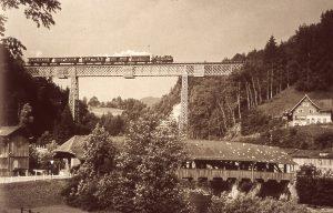 Alte Guggenloch-Brücke bei Lütisburg Foto Hans-Ulrich Wepfer / Sgl. Anton Heer