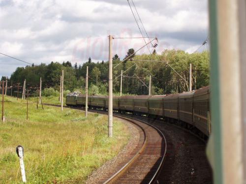 16.08.2004 - Im Zug 76 Richtung Osten