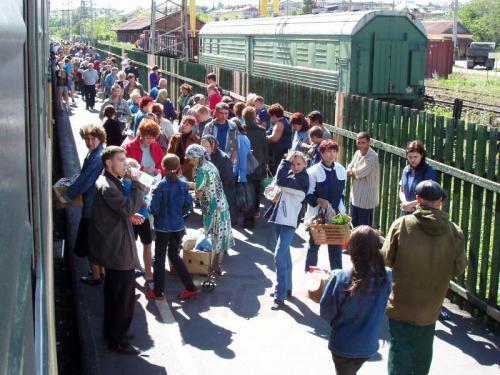 16.08.2004 - Bahnhof Krasnoufim