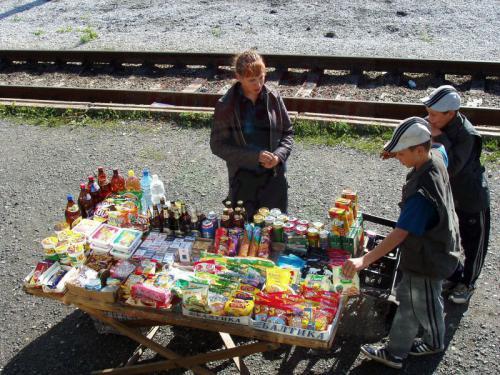 16.08.2004 - Bahnhof Drujinino