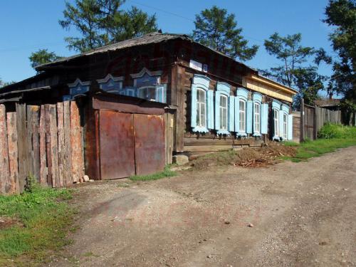 23.08.2004 - Holzhäuser in Irkutsk