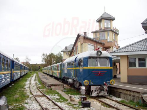 23.08.2004 - Zug der Kindereisenbahn in Irkutsk