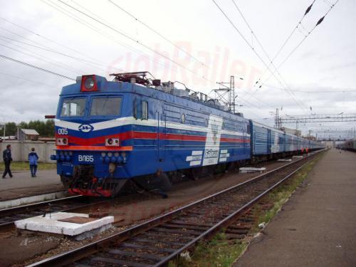 24.08.2004 - Der Bajkal nach Moskau mit passender Lok in Sima