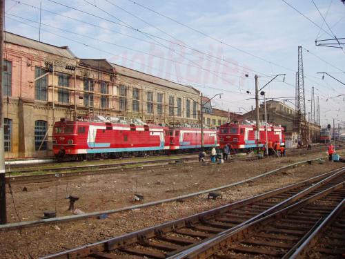 25.08.2004 - Lokdepot in Krasnojarsk