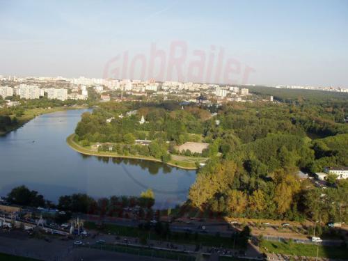 27.08.2004 - Blick auf den Ismailowski Park